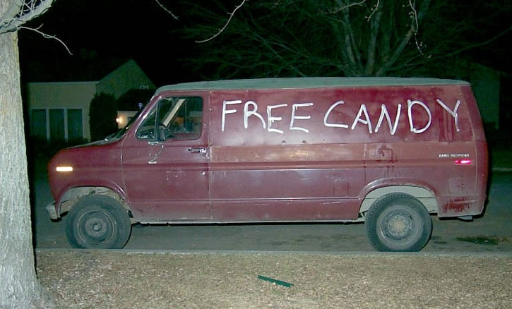 Sammy Claims the Sex Van Looks Like This...