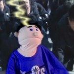 God Strikes Puppet With Lightning