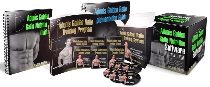 Adonis Golden Ratio Get Ripped Program