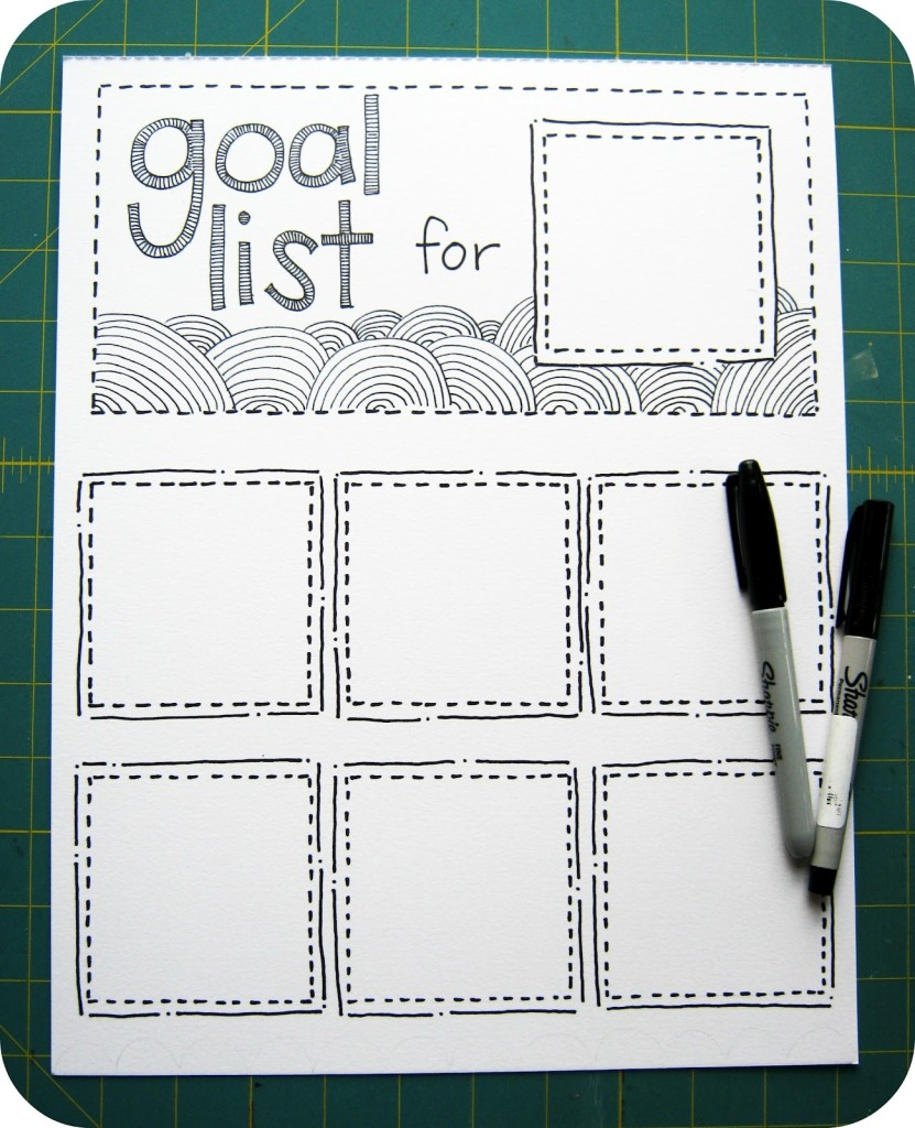 Make a List of Goals - And Do It!