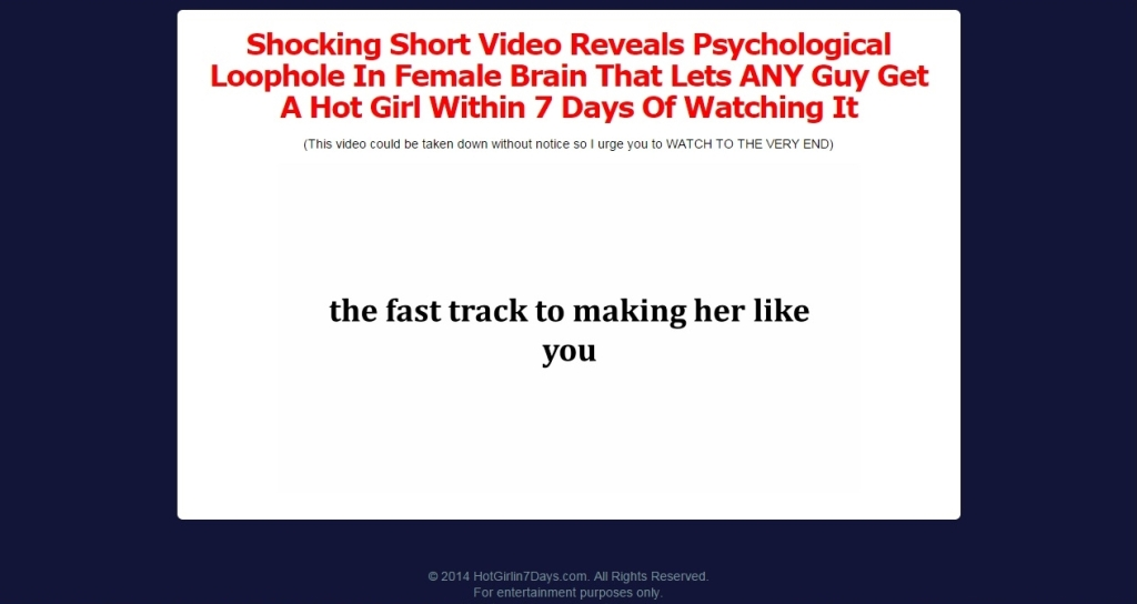 Hot Girl In 7 Days Program